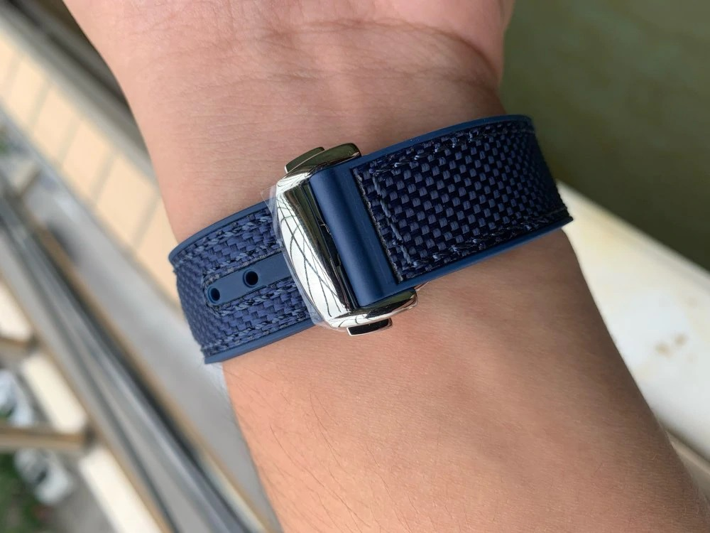 "Pagani Design PD-1667 Blue Nylon ""Seamaster"""