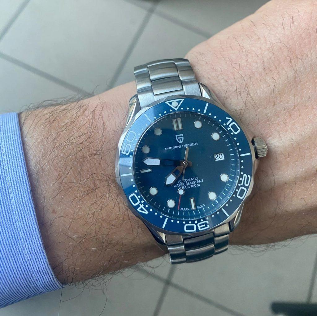 "Pagani Design PD-1667 Blue ""Seamaster"""