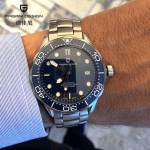 """Pagani Design Watch PD-1667 Blue """"Seamaster"""""""