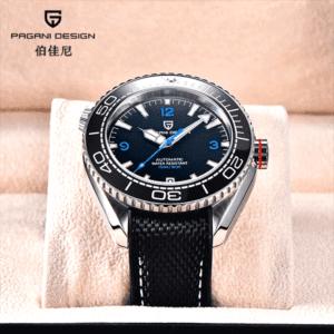"Pagani Design PD-1679 Black ""Planet Ocean"""