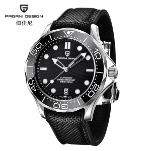 "Pagani Design Watch PD-1685 Black ""Seamaster"""
