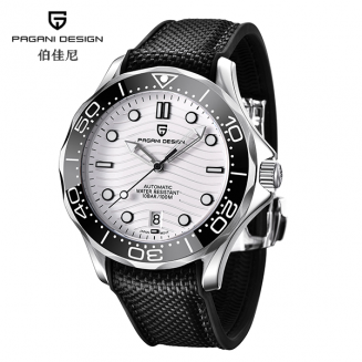 "Pagani Design PD-1685 White ""Seamaster"""