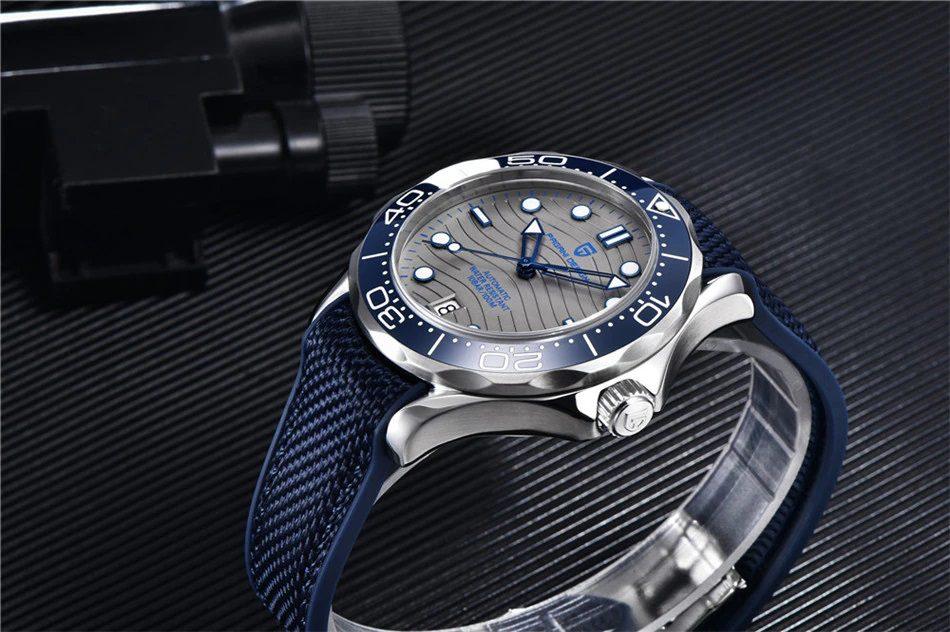 "Pagani Design PD-1685 Blue ""Seamaster"""