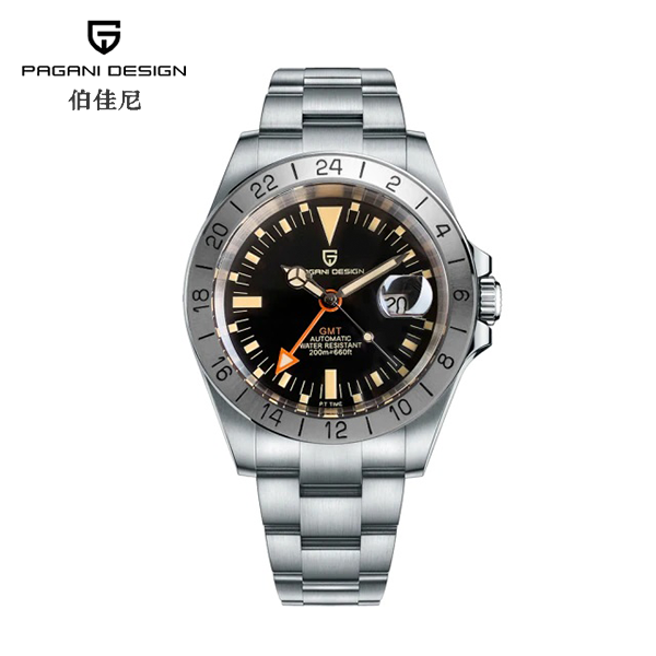 "Pagani Design Watch PD-1693 GMT Orange ""Steve McQueen"""